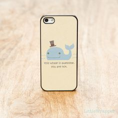 Awesome whale iphone case $19.00