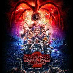 Netflix has debuted the official Stranger Things Season 2 poster. The second season will hit the streaming service this Friday, October Stranger Things Saison 1, Stranger Things 2 Poster, Stranger Things Netflix, Stranger Things Soundtrack Vinyl, Stranger Things New Season, Stranger Things Show, Michael Stein, Strange Things Season 2, New Poster