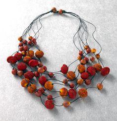 Paper mache beads on pinterest papier mache paper mache for How to make paper mache jewelry
