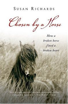 Simple beautiful cover but the script does make it difficult to read if set up as an ebook cover. Susan Richards - Chosen By A Horse