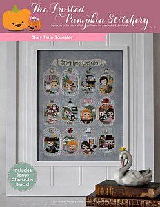 The Frosted Pumpkin Stitchery - Story Time Sampler – Stoney Creek Online Store