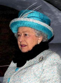 Queen Elizabeth February 11, 2013 | The Royal Hats Blog