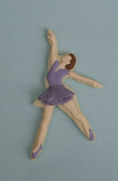 Ballerina Cookies Royal icing floodwork with fondant tutu. Sugar Cookie Royal Icing, Sugar Cookies, Cookie Designs, Cookie Ideas, Ballerina Cookies, Cookies For Kids, Ballet, Cookie Decorating, Decorating Ideas