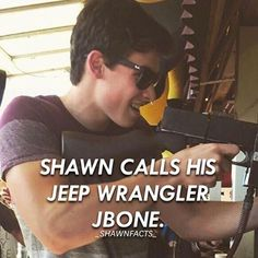 Stiles named his Jeep, Roscoe, so there's no shame in it.
