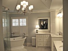 bathroom remodel. I like the tub in the corner like this. I think it would fit… More