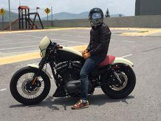 Nightster, Lets Ride, Ride Safe, Black Label, Bell Helmet, Biltwell Bubble