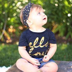 Ello Love Black & Gold