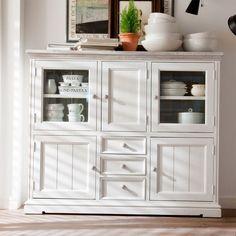 stil wohnzimmerschrank in weiß guadiana wohnen de more vintage stil ...