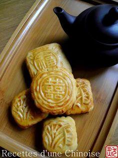 Gâteau de lune - Recettes d'une Chinoise