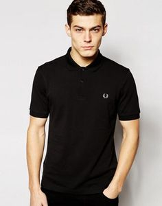 Fred Perry – Polohemd in schmaler Passform