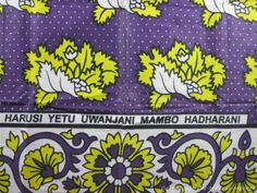 "Harusi yetu uwanjani, mambo hadharani, ""our wedding was public but our business is private"" (For Adsila) African Prints, African Fabric, Tanzania, Kenya, African Great Lakes, Lake Tanganyika, Great Lakes Region, Babywearing, Book Making"