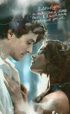 """annachibi: """" Vicbourne manip by thefangirleffect (posted with permission) Isn't it amazing?? :D """""""