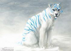 Tiger. by Safiru.deviantart.com on @DeviantArt