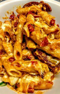 One pot skillet baked pasta