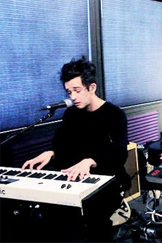 Matty performed 'Somebody Else,' acoustically