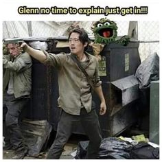 Zombies on sesame st