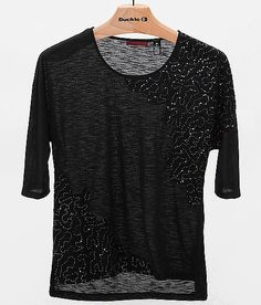 BKE red Pieced Top