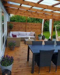 Outdoor Pergola, Backyard Pergola, Outdoor Rooms, Outdoor Living, Pergola Plans, Garden Sitting Areas, Balkon Design, Outside Patio, Backyard Patio Designs
