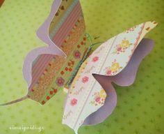 Πως θα φτιάξουμε διακοσμητικές πεταλούδες