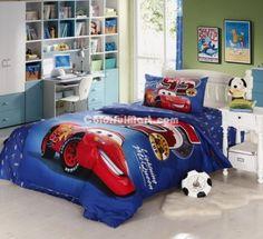 lightning mcqueen deep blue disney bedding sets colorful