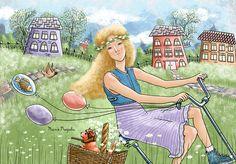 Просмотреть иллюстрацию Июль из сообщества русскоязычных художников автора Татьяна Перова в стилях: Компьютерная графика, нарисованная техниками: Компьютерная графика.