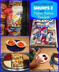#ad Family movie night with Smurfs 2 and Tyson Batter Tenders. #TastyTenders #shop #cbias