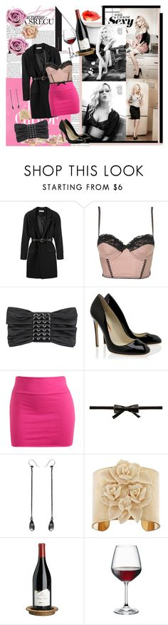 """Sexy Avril"" by babovka ❤ liked on Polyvore featuring Vanity Fair, Preen, Forever 21, Rupert Sanderson, Wet Seal, Steve Madden, Ann Demeulemeester, Blydesign, Bormioli Rocco and Clips"