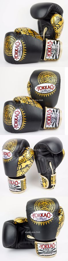 09c9a391ac Gloves - Martial Arts 97042: Boxing Gloves Yokkao Maui Black 14Oz Boxing  Muay Thai Karate Mma Premium Leather -> BUY IT NOW ONLY: $74.25 on eBay!