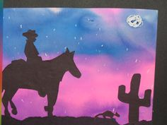 ideas for 4th grade Rodeo Art