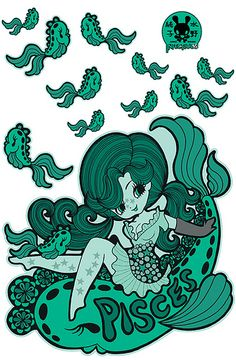 Junko-Pisces-Small-Wall-print-layout | Flickr - Photo Sharing!