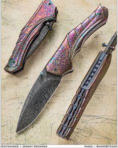 Red Dragon. I just realized that I never posted this to IG. #jeremykrammesknives #jkknives #handmade #sharpthings #carved #reddragon
