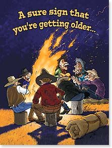 Birthday Card Funny Cowboy Humor Just Another