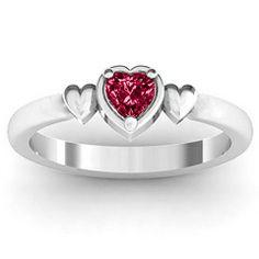 Triple Heart Ring #jewlrchristmas @Julie Forrest Rodríguez