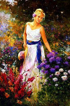 Jose Miguel Roman Frances ~c.c.c~Gathering Wildflowers