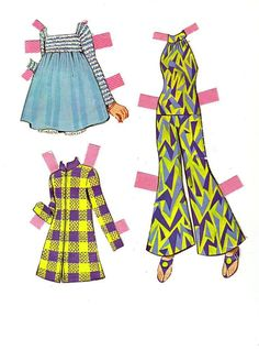 Twiggy Paper Dolls, Page 4