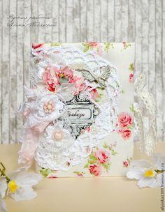 """Купить Блокнот """"Уютный"""" - бледно-розовый, шебби-шик, блокнот ручной работы, блокнот для записей"""
