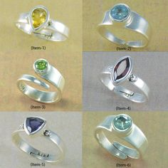 MIX ADJUSTABLE COMBO RINGS