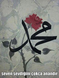 Hz. Muhammed Sav- ebru sanatı