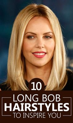 Long bob hairstyles are one of the simplest ways to be trendy & still not…
