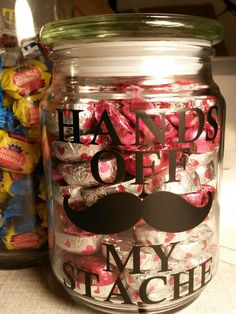 Candy Jar for Dad!