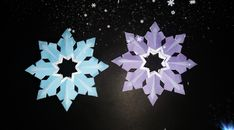 Diy Paper, Paper Crafts, Diy Crafts, Snow Flakes Diy, Paper Snowflakes, Art, Art Background, Tissue Paper Crafts, Paper Craft Work