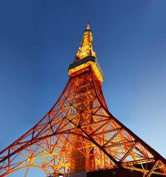 写真,素材,無料,フリー,フォト,クリエイティブ・コモンズ,風景,壁紙,東京タワー, 集約電波塔, ライトアップ, アンテナ, 展望台