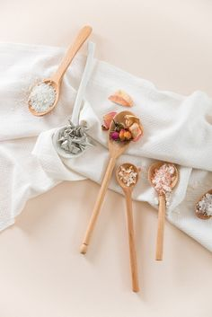 DIY Romantic Floral Bath Salts by Simone LeBlanc | Glitter Guide