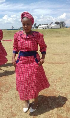 Top Sotho Shweshwe Dresses For Women 2018 / 2019 Traditional Shweshwe Dresses Fashion 2018 / 2019 shweshwe dresses African Acceptable Clothes 2018 kente appearance african beat dresses cocktail dresses African Dresses For Women, African Print Dresses, African Attire, African Fashion Dresses, African Wear, African Women, Fashion Outfits, African Clothes, African Prints
