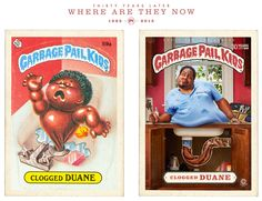 Garbage Pail Kids 30 Years Later Make the Wait Worthwhile -  #BrutonStroube #garbagepailkids #retro