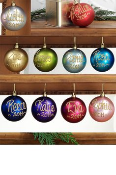 Personalised Bauble In Gift Tin - Easy 2 make
