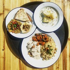 Caviar D'aubergine, Grenade, Buffet, Curry, Ethnic Recipes, Bulgur, Pistachios, Hummus, Chickpeas