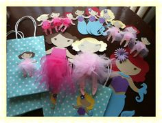 Tutu Ballerina party...Little Mermaid party