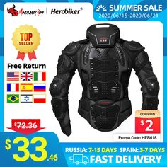 Cheap Armor, Buy Quality Automobiles & Motorcycles Directly from China Suppliers:HEROBIKER Motorcycle Jackets Motorcycle Armor Racing Body Protector Jacket Motocross Motorbike Protective Gear + Neck Protector Enjoy ✓Free Shipping Worldwide! ✓Limited Time Sale✓Easy Return. Buy Motorcycle, Motorcycle Jackets, Motorcycle Outfit, Animated Cartoons, Motocross, Motorbikes, Automobile, Motorcycles, Racing