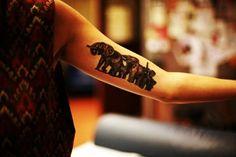 Elephant Tattoo Designs for Girls19